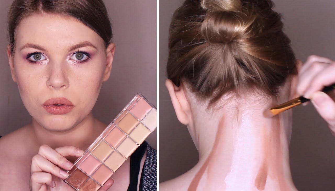 Meglepõ trendek: nyak kontúrozása. Miért kontúrozd a nyakad?