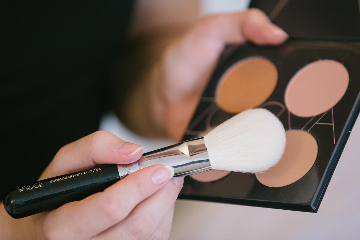 Hogyan használjuk a  Zoeva Spectrum Blush Palette arcpirosítót?